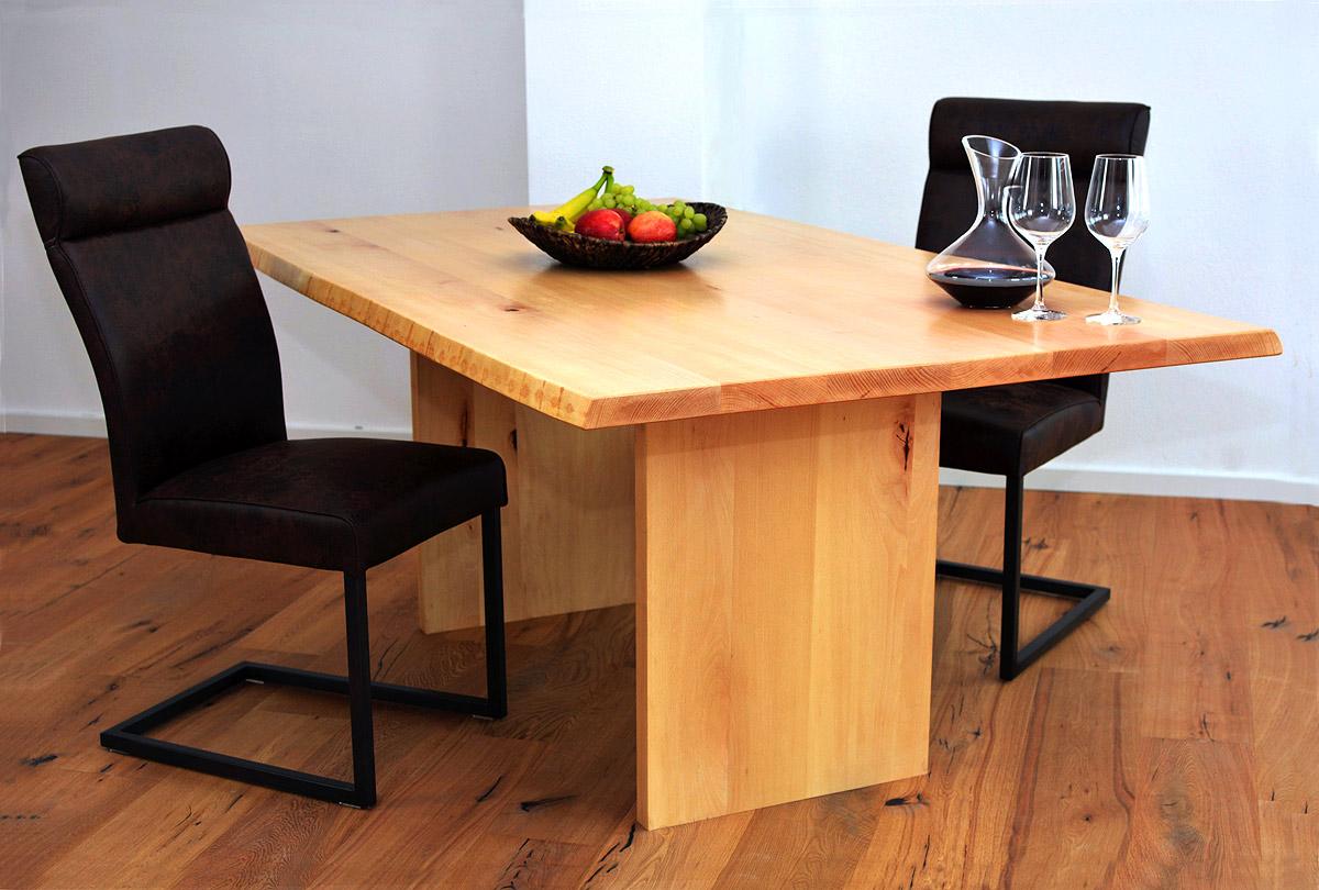 massivholz esstisch paris buche oder eiche. Black Bedroom Furniture Sets. Home Design Ideas