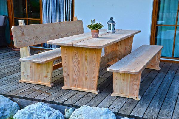 Sitzgruppe Modell Alpenblick